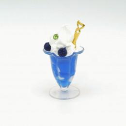 Мороженое для кукол голубика