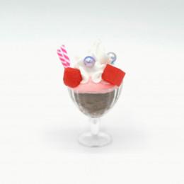 Мороженое для кукол шоколад-клубника